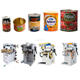 Automatic food tin can making machine for tomato canning factory