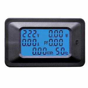 20A 100A 220 v LCD Panel Monitor Power Energy Analoge Voltmeter Ammeter Watt Huidige Amps Volt Meter Digitale AC Voltage meter