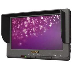 HD-SDI,HDMI & YPbPr Input, 7 inch LCD monitor for Full HD Video Camera