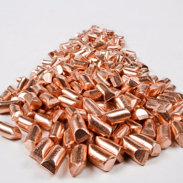 6N Cu:99.9999% High Grade Copper 1KG Per Piece