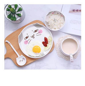 Hot Sale New Design Eco-Friendly luxury Cartoon dinnerware sets ceramic