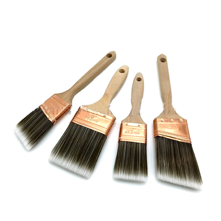 Free Sample US Market Purdy Paint Brush With Wooden Handle