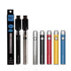 ECT cos twist battery 650mah rechargeable 510 thread CBD preheat variable voltage battery