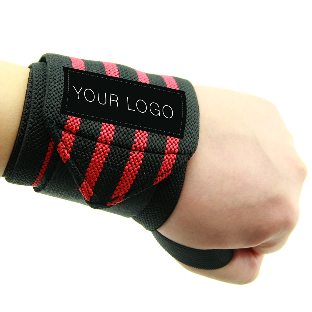 "Wrist wraps for weight lifting,workouts,wrist brace,wrist supports 18"" with thump loop"