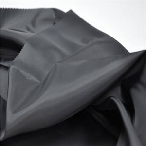 Factory supply Recycled 100 Soft Textile 190T Waterproof Silk Price Plain Lining Taffeta Polyester Fabric