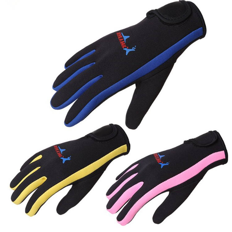 High Quality Keep Warm 1.5MM Unisex Diving Gloves  Snorkeling Glove for Water Sport