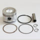 Aftermarket Replacement 68mm Piston & Pin & Circlip & Ring Kits Fit for GX160 GX200 GX 160 5.5 HP Engine