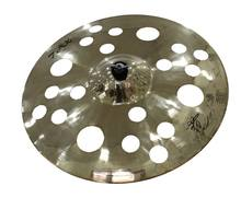 B20 chinese cymbal splash hihats crash ride drum Cymbals on cymbal display stand