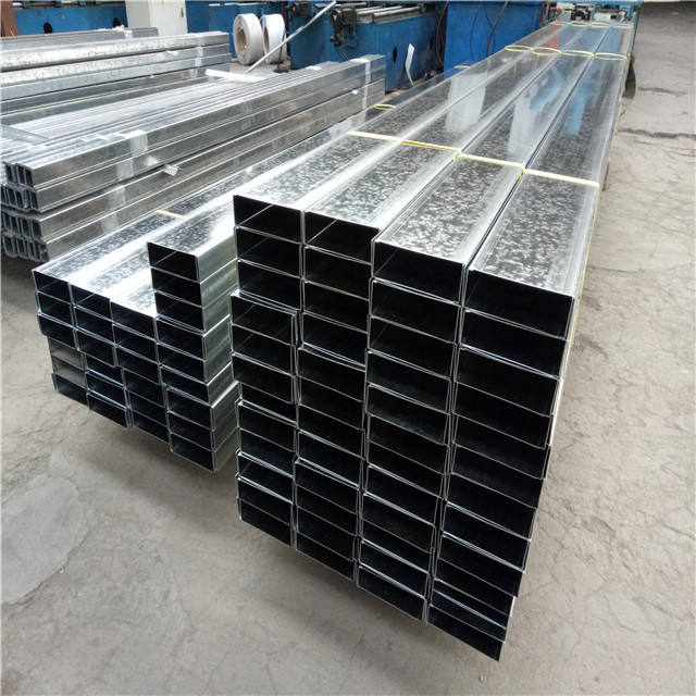 China Suppliers Profiles Building Frame Materials Factory sale Galvanized Steel drywall metal stud track/building materials