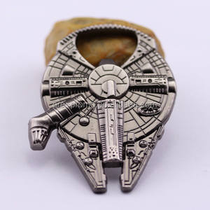 Metal Spacecraft Millennium Falcon Bottle Opener