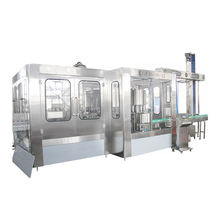 3 in 1 PET Water Bottling Plant Equipment Used and New High Filling Speed 18000 BPH Capacity