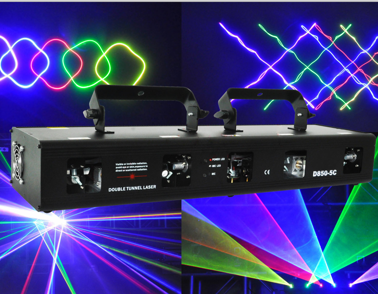 5 head 4 lens eyes double head powerful fat beam long range dmx dj music purple disco laser club light price