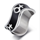 Cool lesbian rings for women Square Gay pride rings Venus stainless steel rings with female symbol