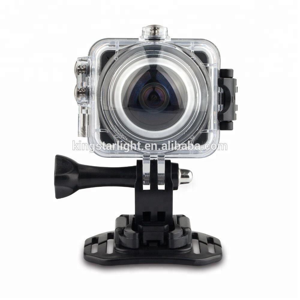 2018 factory newest high quality Full HD xdv 360 action camera sport camera 4k sport action camera