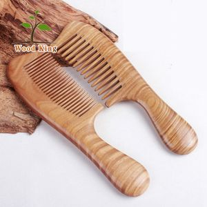 Wholesale High-End Gifts Ebony Rosewood Health Carding Straightening Wooden Hair Sandalwood Comb