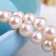 Top quality A grade freshwater pearls white color round pearls beads wholesale
