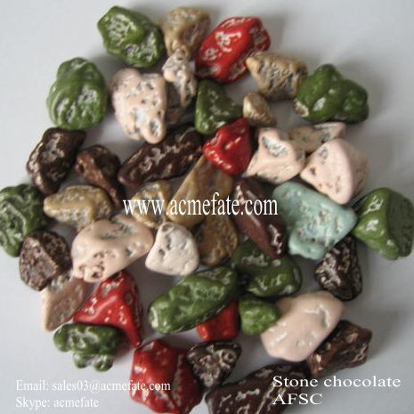 crisp stone chocolate & coated peanut for child snack