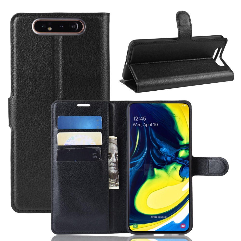 Case For Samsung Galaxy A80 2019 Case For Samsung A80 For Galaxy A80 Flip PU Leather Wallet Protective Cell Phone Covers Case