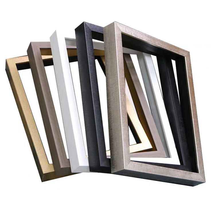J02555 series PS polystyrene mirror/photo/picture frame moulding