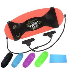 With a twister abs legs waist core workout simply fit step board yoga board exercise balance board
