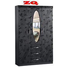 dressing bedroom wardrobe with mirror