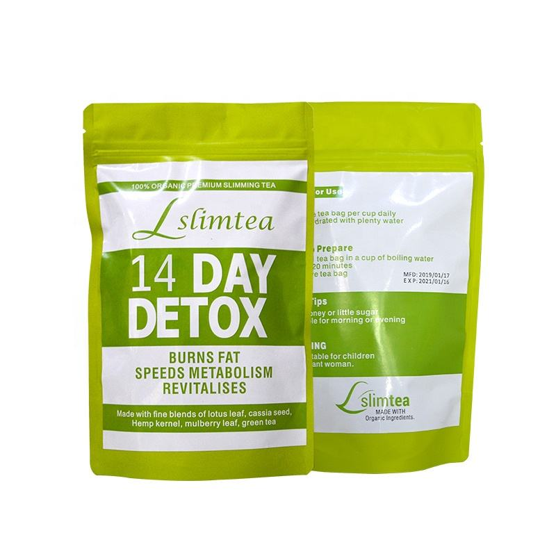OEM Detox Slimming Tea Weight Loss Burn Calories Flat Tummy Tea