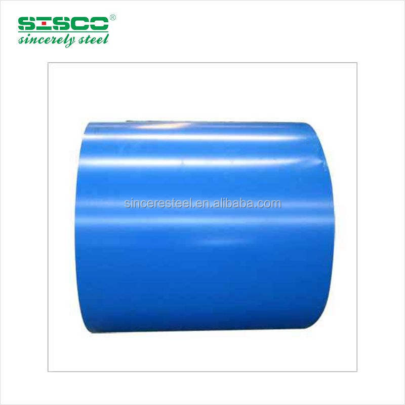Construction Building Raw Materials TSGCC TDX51D Prepainted Galvanized Steel Coil from Shandong