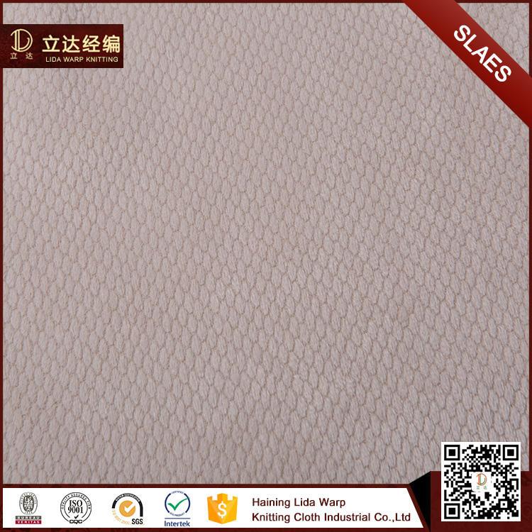 Toptan 100% polyester kadife burn out yumuşak kabuk kumaş