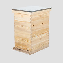 2019 Pine wood box beehive langstroth bee hive