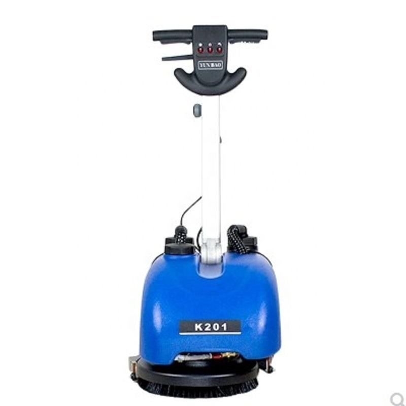 mini portable small compact automatic walk behind floor scrubber for office warehouse store