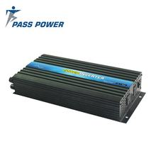 PASS POWER Car Camping Converter black DC 48V to 220V AC 2500 Watt High Frequency Pure Sine Wave Power Inverter 5000W Peak