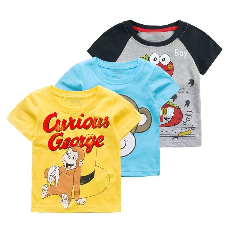 Online Shopping Baby Boy's Clothes Cartoon 100% Cotton T-Shirt Newborn Clothes