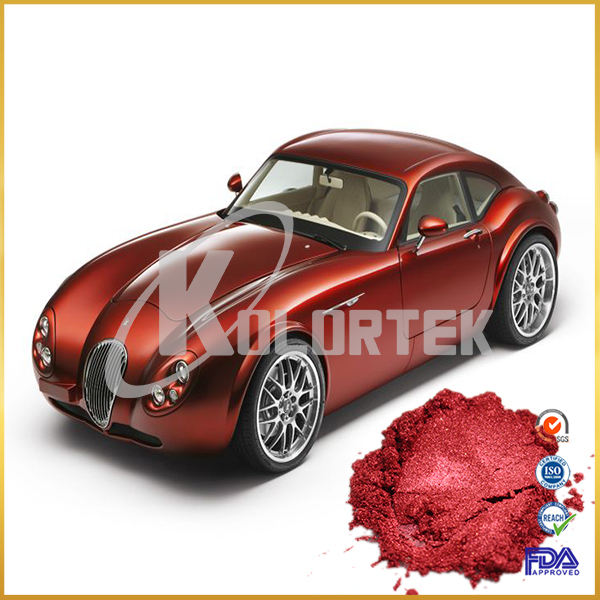 Kolortek high grade candy red car paint colors pigment