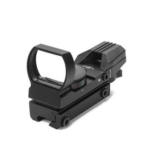 LUGER HD101 Tactical Reflex 4 Reticle Optics Holographic Red Dot Sight Hunting Scope