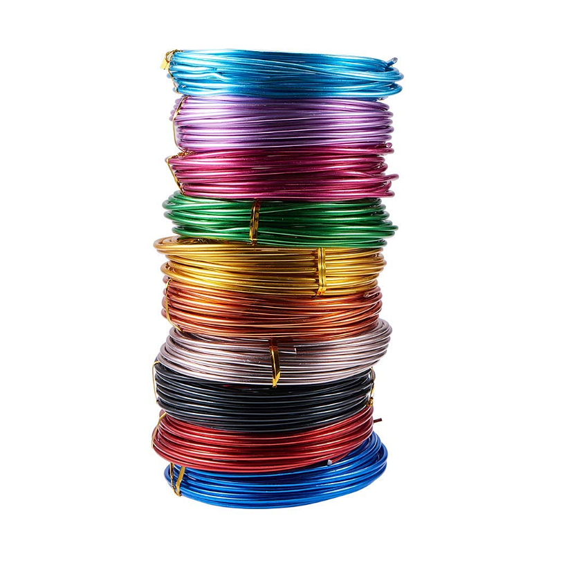 Wholesale Garden Aluminum Wire Craft Wire Aluminum 1mm 1.5mm 2mm 3mm