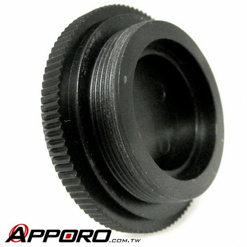 APPORO Plastic Injection Tooling Part ABS Video Camera Rear Cap Lens Hood C Mount Adapter