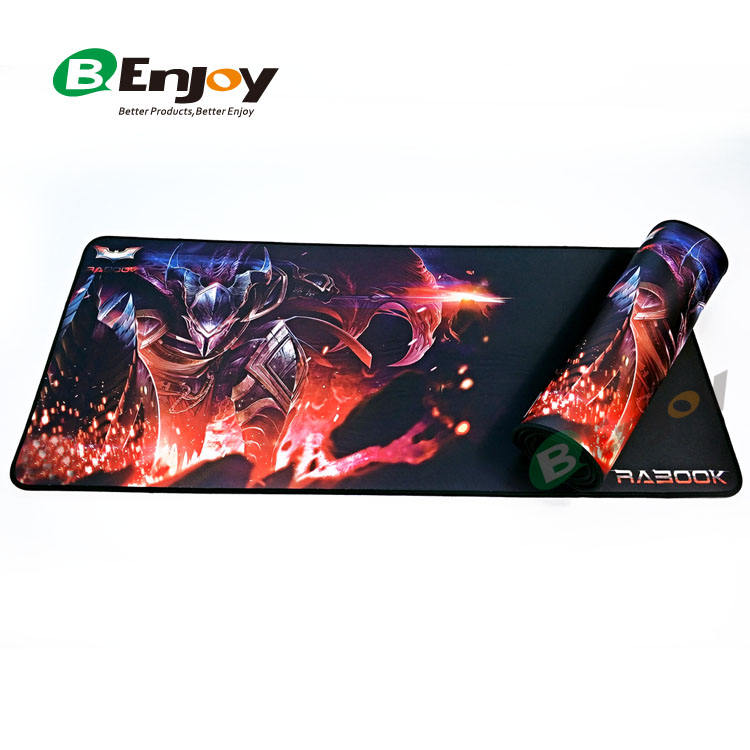 Mouse Mat Manufacturer Custom Full Colour Design Print XL XXL Big Polyester Fabric Anti-Slip Rubber Neoprene Laptop Full Desk Game Gaming Mouse Pad Mat
