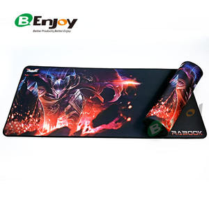 Custom Full Colour Design Print XL XXL Big Polyester Fabric Anti-Slip Rubber Neoprene Laptop Full Desk Game Gaming Mouse Pad Mat