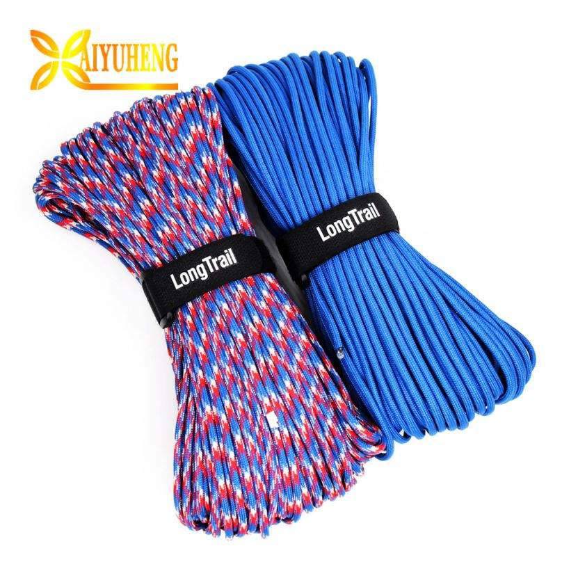 2.5 Mm Hammock Camping For Hiking Emergency Cord Fluorescent Tent Rope