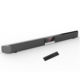 Soundbar with Built-in Subwoofer, 34 Inch 40-Watts 4.0 Channel Wireless & Wired Bluetooth Sound Bars Home Theater Surround Sound