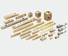 High Quality Customize Brass Copper Screw Terminal Block Connector Earth Bar Brass Bar Copper Bar