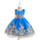 Latest Design Kids Party Wear Summer Boutique Wedding Fancy Party Dress Baby Frock For Girls L9029