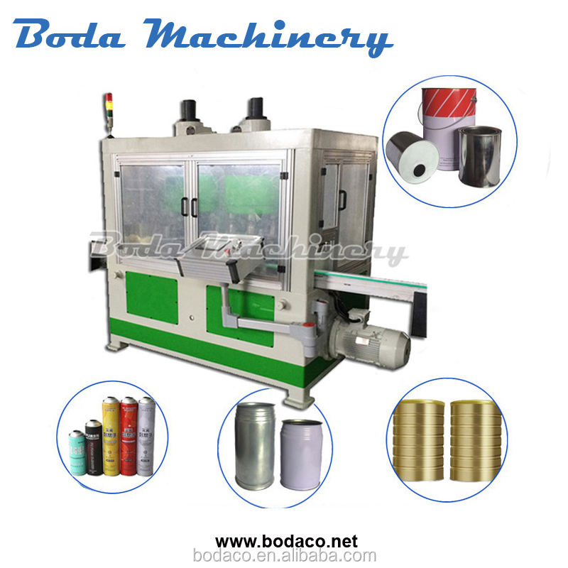 Tin Can Beading/Beader Machine Equipment For Food Tin Can Making Packing Line
