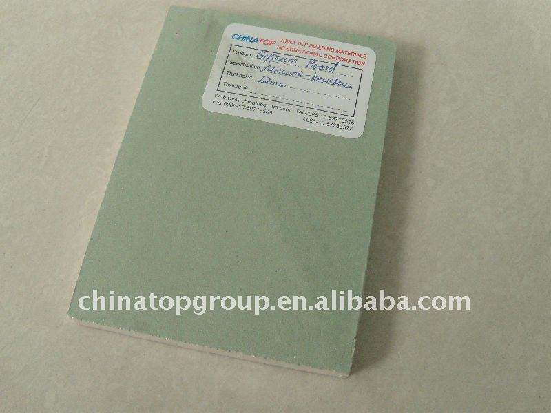 waterproof gypsum board