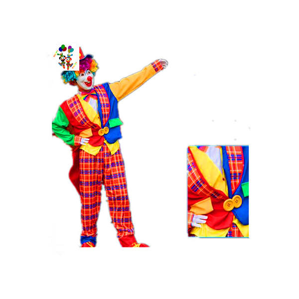 Costumes Cosplay unisexe adultes, <span class=keywords><strong>Clown</strong></span> fantaisie, fête, HPC-3169, nouvelle collection