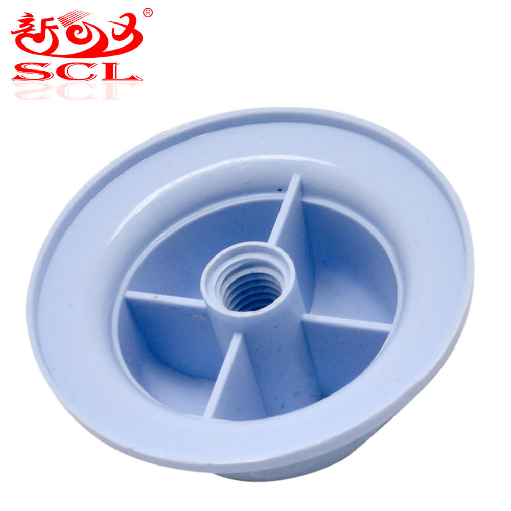 Low Price Factory Price High Quality Electric Fan Parts fan leaf lock mother (white transparent) glue