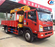China factory Dayun 4x2 truck crane 6 ton
