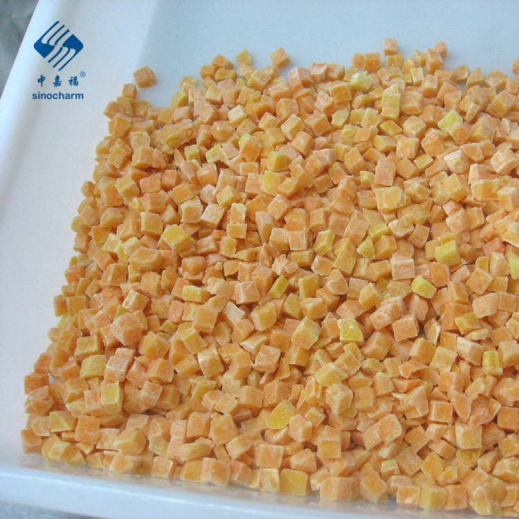 Frozen Cooked Diced Sweet Potato