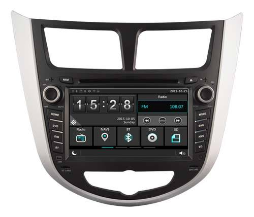 WITSON CỦA WINDOWS XE DVD PLAYER CHO HYUNDAI VERNA SOLARIS ACCENT 2010 2012