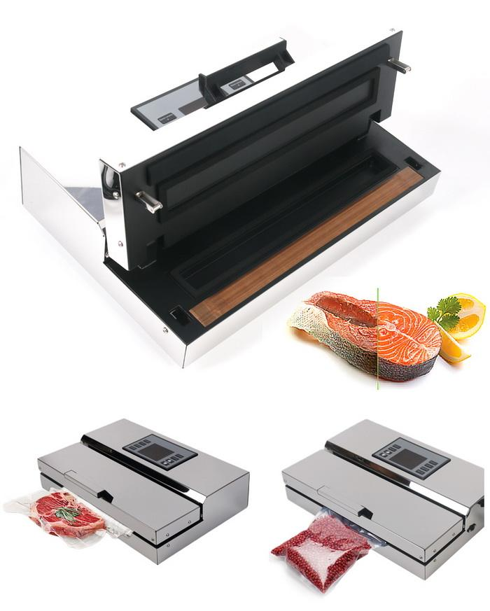 High Quality Vacuum sealer machine/food vacuum sealer machine desktop type